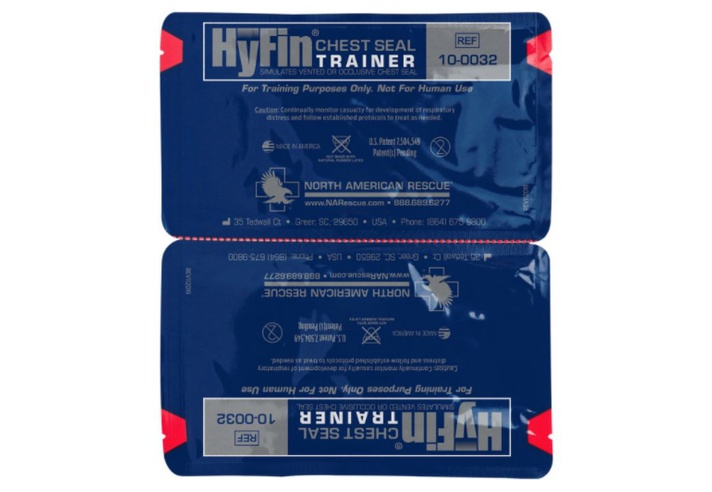 HyFin Vent Chest Seal Twin Pack - Trainer
